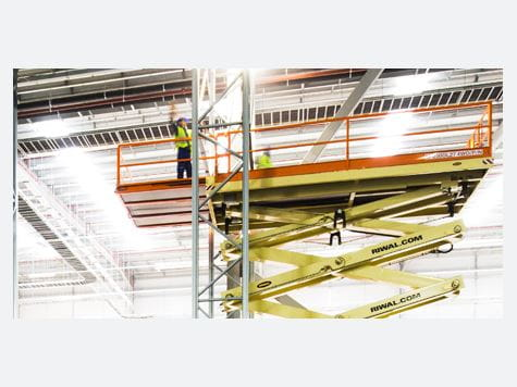 Value proposition Riwal | Racking system | Warehouse | Aerial work platforms | Scissor lifts | Riwal