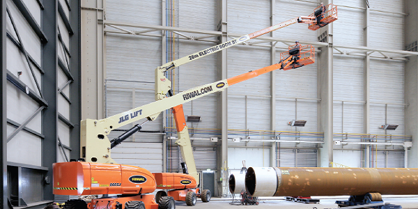 Aerial work platform   Boom Lift   Electric Boom Lift   Riwal Solutions   Electric Solutions   Riwal