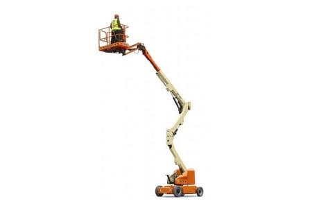 JLG E 400 Riwal podest przegubowy