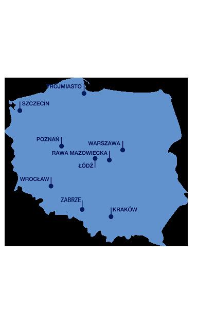 Riwal oddziały Polska